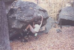 Rock Climbing Photo: Ed Sewall in the 80s.