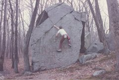 Rock Climbing Photo: Ed Sewall in the 80s.