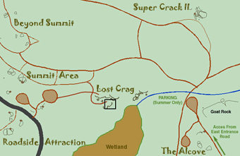 Lost Crag Area