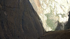 Rock Climbing Photo: View from the top of pitch 3