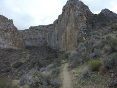Rock Climbing Photo: View as you come up the trail