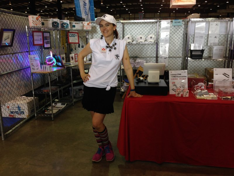 Rock Climbing Photo: This is a pic from one of my Makerfaire booths.  I...