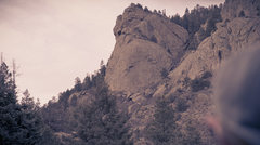 Rock Climbing Photo: Tanner Dome from the Little Bear parking area.