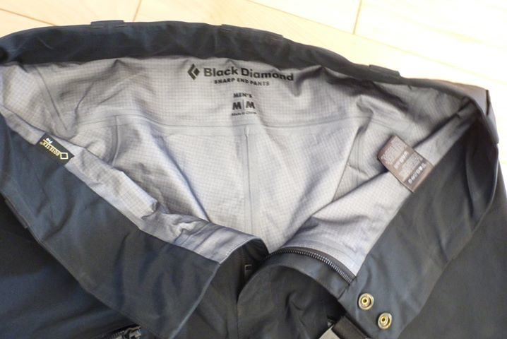 BD Sharp End pants waist
