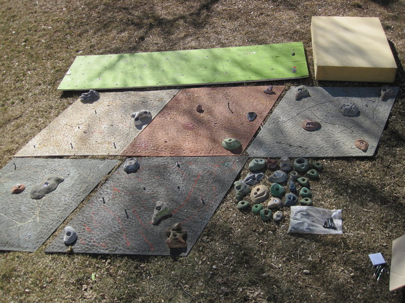 Climbing Wall Accessories<br>