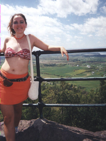 Rock Climbing Photo: Hiking in a skirt - the best