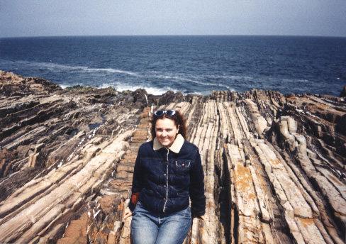 Basalt Dyke in Maine - so beautiful.