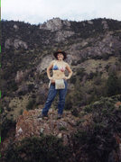 Rock Climbing Photo: I can totally do geology in a bikini top