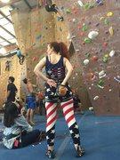 Rock Climbing Photo: Patriotic