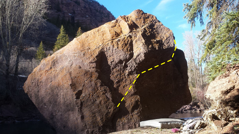 Rock Climbing Photo: Traverse.