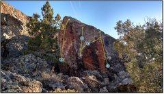 Rock Climbing Photo: 1. Magnetosphere.