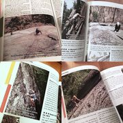 Rock Climbing Photo: Clockwise from upper left: Consolation Prize, 5.8,...