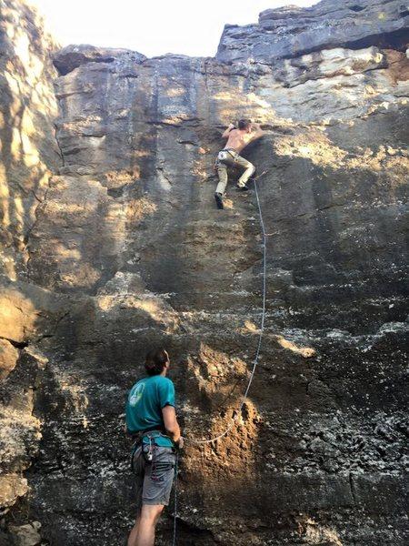 Climbing Zig Zag