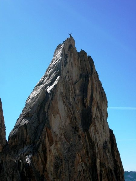 Summit of Aiguille Dibona...yay!