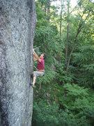 Rock Climbing Photo: Partners in Climb (5.11c/d)