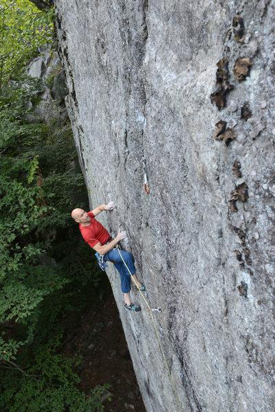 Rock Climbing Photo: Public Enemy (12a)