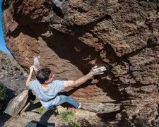 Rock Climbing Photo: Climber: Anthony Tellez Mini Slashface V9 Photo: R...