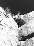 Rock Climbing Photo: Julian at the top of BC!!