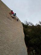 Rock Climbing Photo: Perfect slab climbing. So good