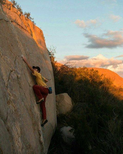 Rock Climbing Photo: Radness