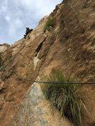 Rock Climbing Photo: Really fun face climbing on P2