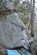 Rock Climbing Photo: Sarene on the start to L&F