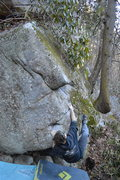 Rock Climbing Photo: Liam Kiser on the start to L&F