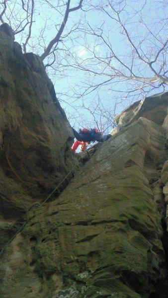 Rock Climbing Photo: Top of Hannibal lecter.