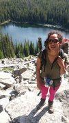 Rock Climbing Photo: Hiking in Montana.