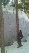 Rock Climbing Photo: QUARRY BOULDERS, pyromancer.