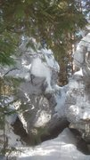Rock Climbing Photo: quarry boulders.