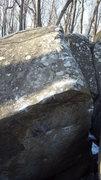 Rock Climbing Photo: Topout slab