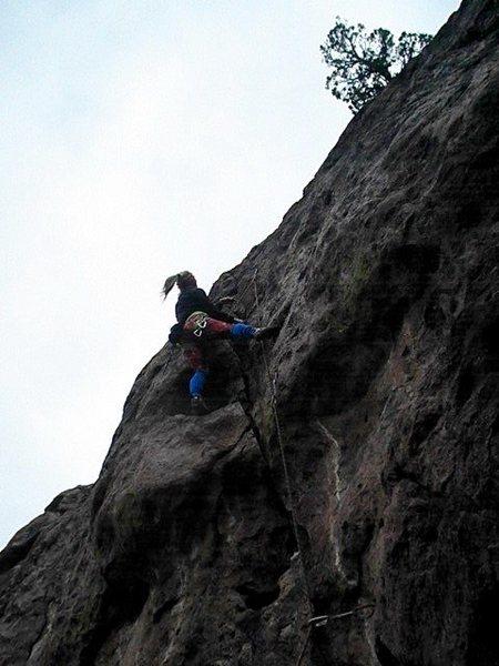 Rock Climbing Photo: Baron Von Crow