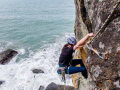 Rock Climbing Photo: It's interesting to see the old bolts next to ...