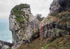 Rock Climbing Photo: East Face and Whale's Brow