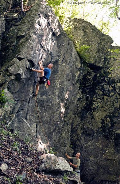 Peet Dannen, WaternamI Crag, Kinsman Notch.
