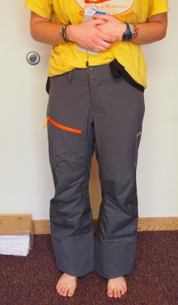 Rock Climbing Photo: Front view of Storen Lady Pant