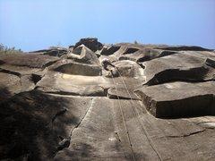 Rock Climbing Photo: Iron Horse P1 anchors