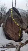 Rock Climbing Photo: Diamond Rock.