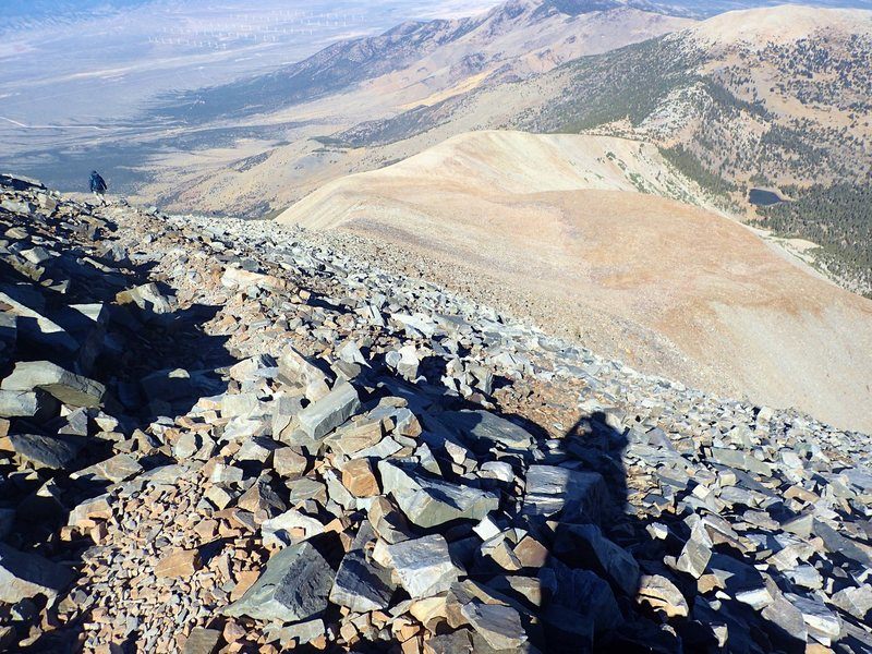 Rock Climbing Photo: Wheeler Peak, NV