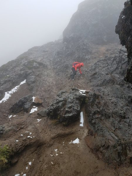 Ruku Pichincha summit climb,