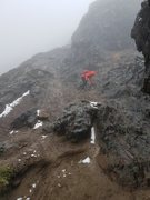 Rock Climbing Photo: Ruku Pichincha summit climb,