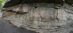 Rock Climbing Photo: #11 in the beta photo