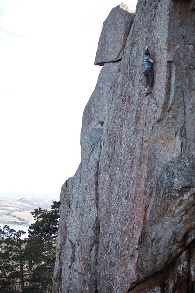 Rock Climbing Photo: Ryan Steadley on Layaway Plan.