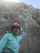 Rock Climbing Photo: A look at the climb, you cannot see the entire cli...