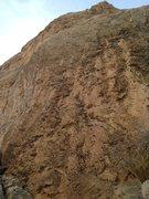 Rock Climbing Photo: Love Handles- 11d.