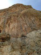 Rock Climbing Photo: Falling Bats- 11c.
