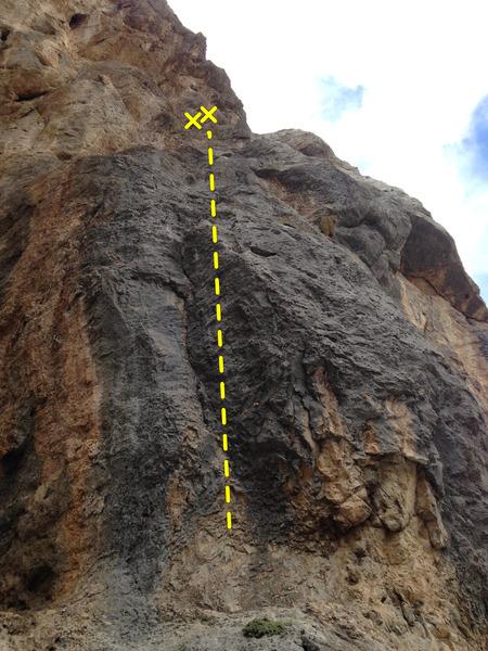 Rock Climbing Photo: Irrational Exuberance- 11a.