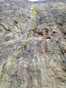 Rock Climbing Photo: Divine Vessel- 11a.