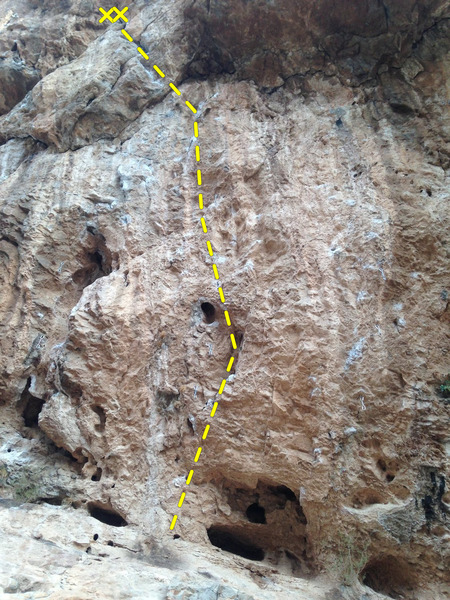 Rock Climbing Photo: Surrender Dorothy- 12d.